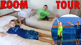 Twins Cruise Ship Room Tour!