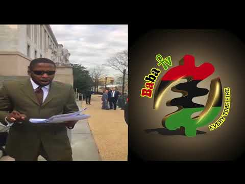 ATTY.MALIK ZULU SHABAZZ INSIDE CONGRESS TO DEAL WITH GOP AND CBC ON FARRAKHAN-TRUMP