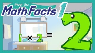 Meet the Math Facts Multiplication & Division - 1 x 2 = 2