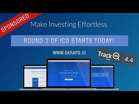 Sponsored ICO Review: Skraps - Invest Your Cryptocurrency Change
