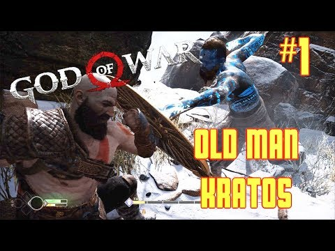 LETS PLAY GOD OF WAR W/COMMENTARY #1 | HE OLD BUT KRATOS STILL GOT IT