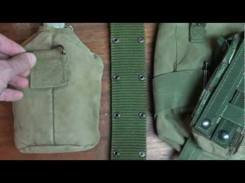 Tactical Gear Tutorial Alice, Molle, Pals, Wire Hanger
