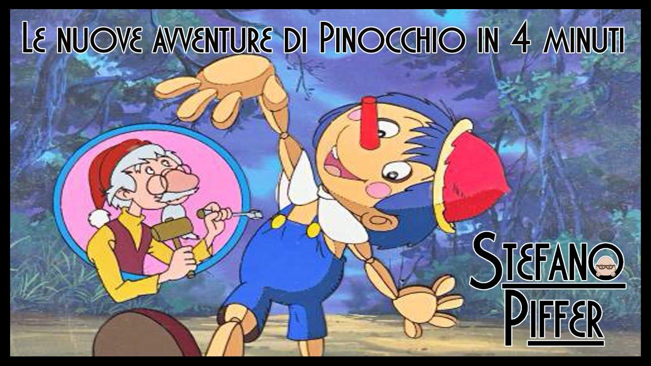 cartone animato avventura pinocchio