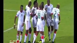 Highlights match Guinea Bissau 0 vs 2 Burkina Faso HD #African #Cup of Nations #CAN 2017