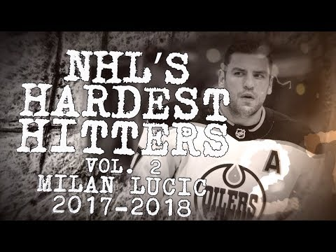 Best Milan Lucic hits from 2017–18 | NHL's Hardest Hitters