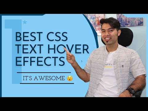 Best CSS Text Hover Effect Using Clip-Path in 2021