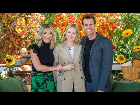 Kelly Rutherford Visits - Home & Family