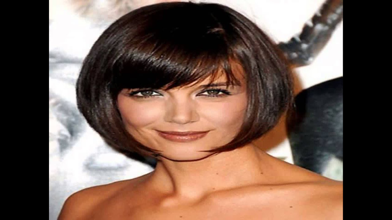 hairstyles for short thick hair 2015 - youtube
