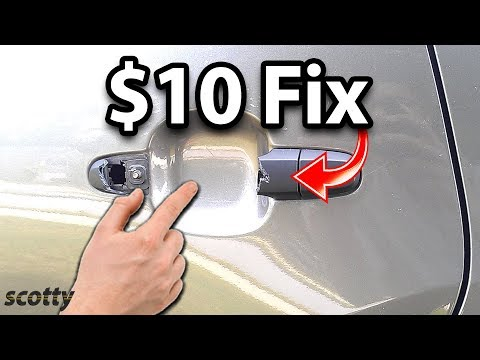 How to Fix Car Door Handle for $10