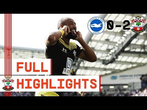 HIGHLIGHTS | Brighton & Hove Albion 0-2 Southampton