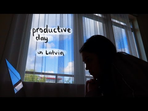 Trying To Be Productive In Latvia