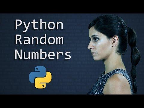 Python Random Number Generator: the Random Module      Python Tutorial      Learn Python Programming