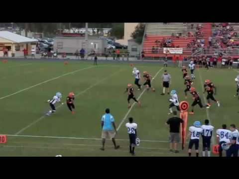 Tyler Stinson- 8th grade RB - Thomas E weightman middle school -(FL) -2016 highlights