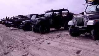 OBX Jeep Mutiny 2 Beach Crawl