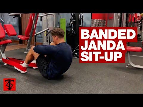 Banded Janda Sit Up Youtube