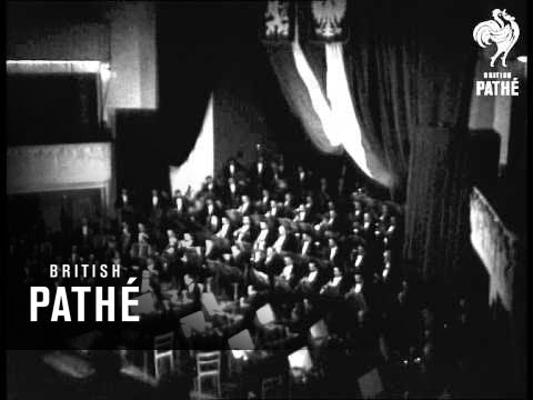 Prague Philharmonic In Warsaw (1947)
