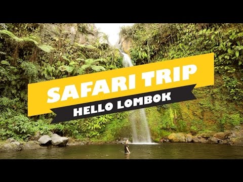 hello lombok - safari trip
