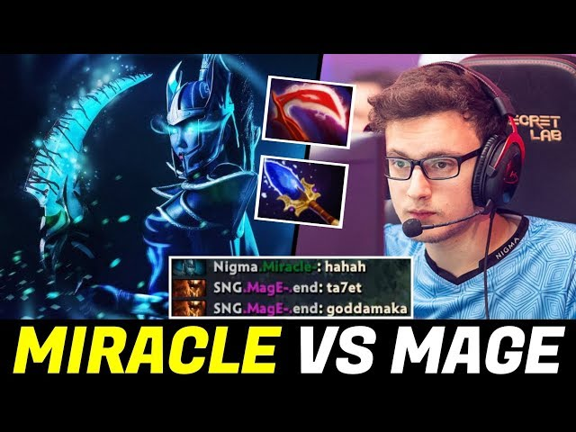 when MIRACLE vs his Best Friend 2 Games in a Row — Phantom Assassin & Wraith King Dota 2