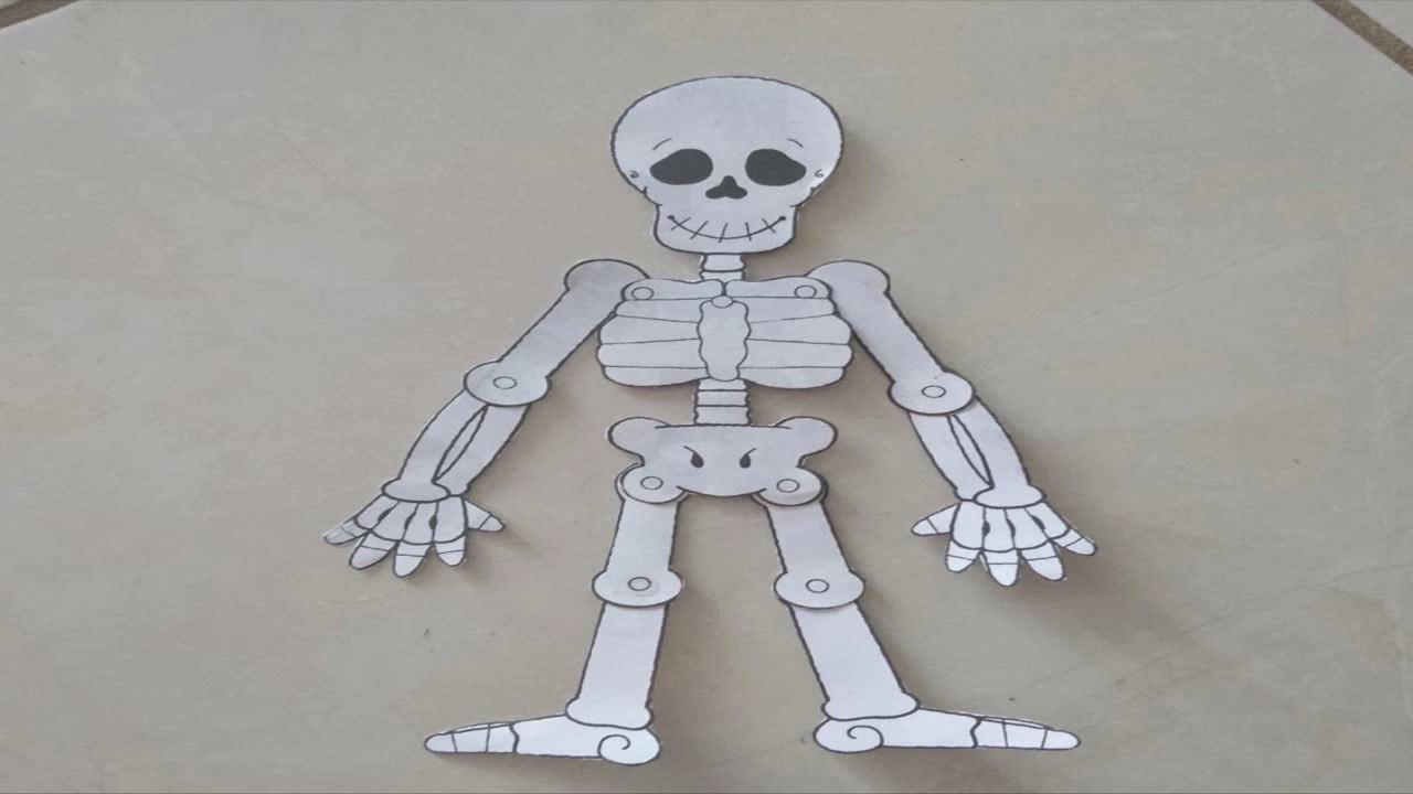 Armar Esqueleto Para Catrin O Catrina Las Manos Mágicas De Mirna Youtube