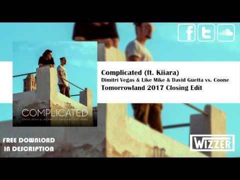 Dimitri Vegas & Like Mike & David Guetta vs. Coone – Complicated | Tomorrowland Closing Edit