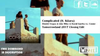 Video Dimitri Vegas & Like Mike & David Guetta vs. Coone – Complicated | Tomorrowland Closing Edit download MP3, 3GP, MP4, WEBM, AVI, FLV Januari 2018