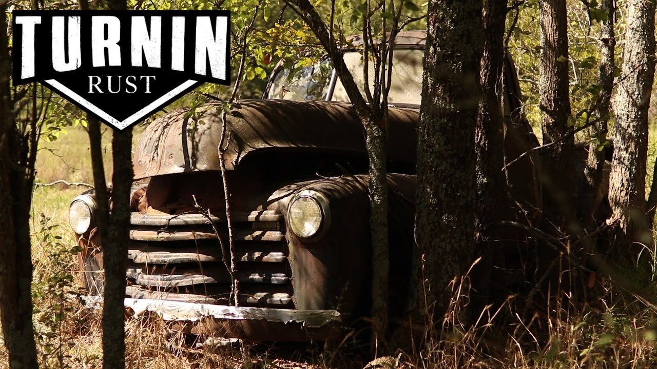 Download ABANDONED 1952 Chevy 3100 Rescued After 40 Years In The Woods!   Turnin Rust