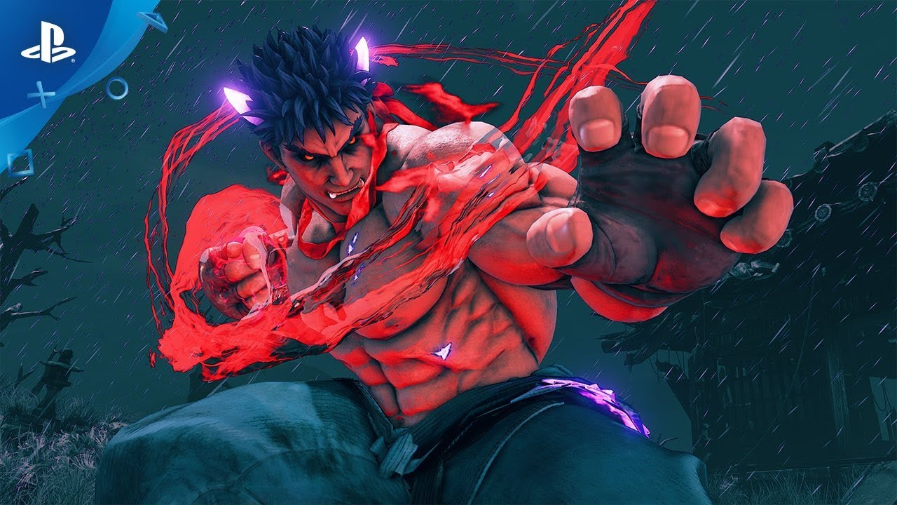 Street Fighter V Arcade Edition Kage Reveal Ps4 Youtube