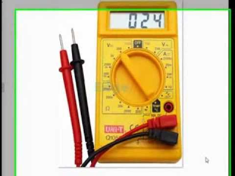 Testing Electronic Components - Electronic Engineering Projects