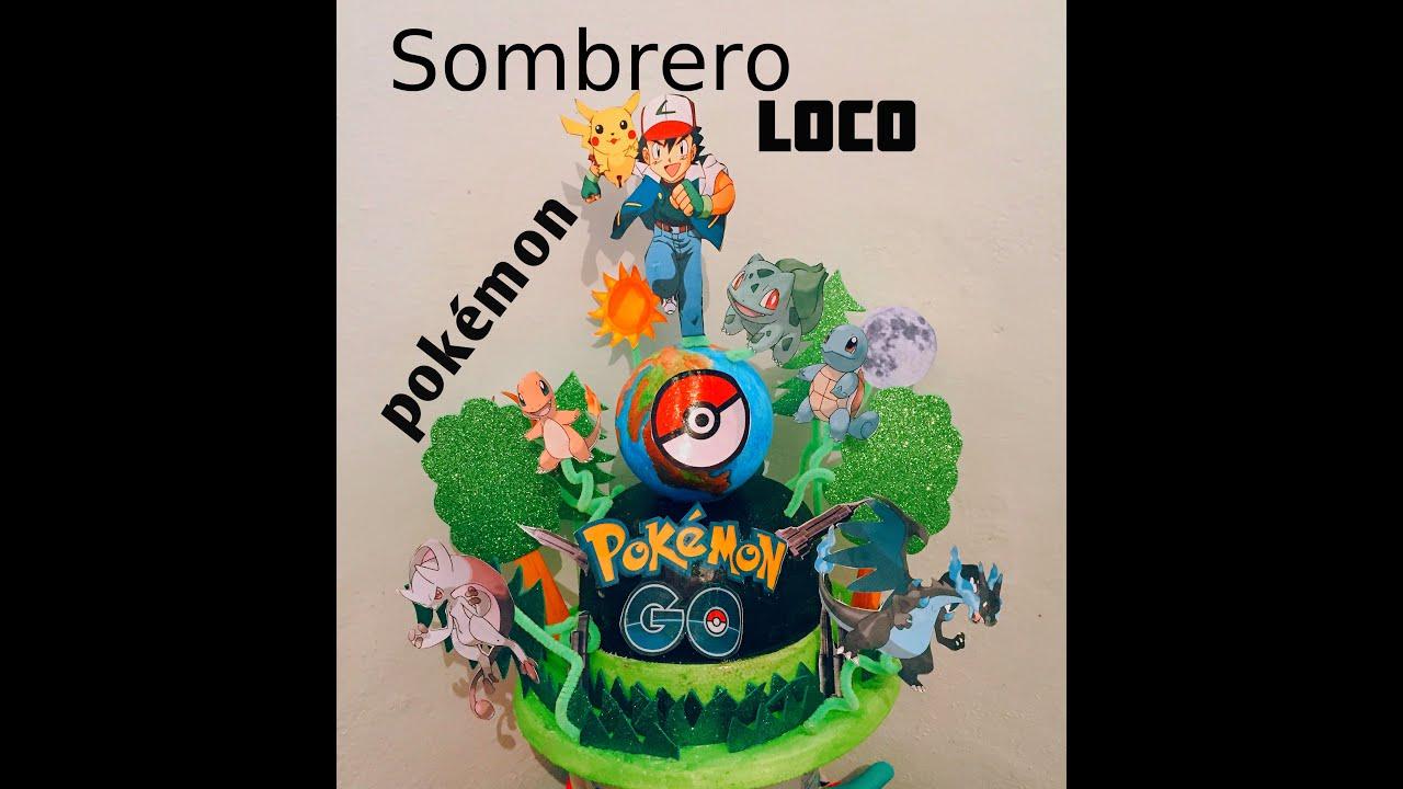 Diy Pokemon Go Sombrero Loco Mad Hatter Youtube