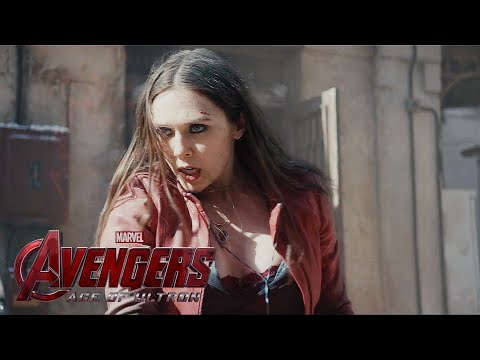 The Avengers:Age of Ultron - Hawkeye & Scarlet Witch HD