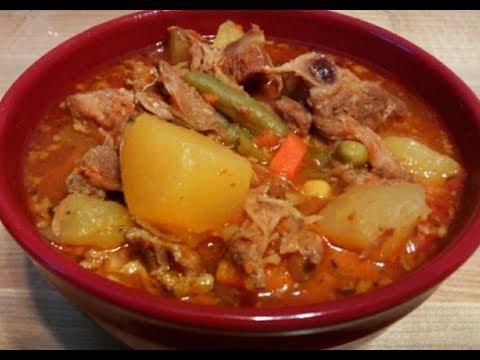 Hearty Pork Neckbone Stew Recipe (HOW TO MAKE NECKBONE STEW) Kiwanna's Kitchen