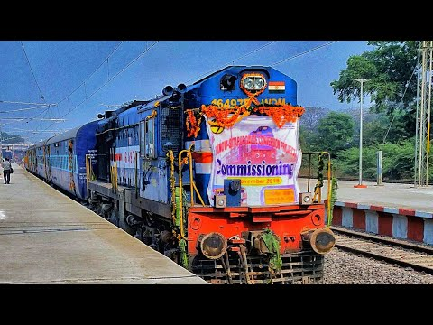 Full SPEED TRIAL @120Kmph COMPILATION of SITAPUR -DALIGANJ SECTION of IR  onboard CRS SPECIAL TRAIN
