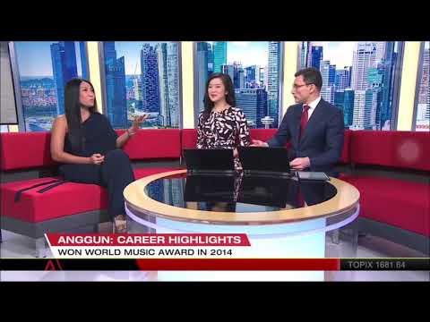 Anggun interview on First Look Asia - Channelnews Asia