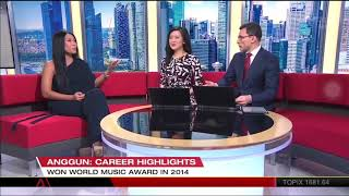 Anggun interview on First Look Asia - Channelnews Asia
