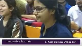 M Com Entrance Online Test | M.Com Entrance Coaching in Delhi