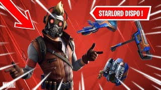 [🔴LIVE FORTNITE] HUGE SKIN 'STARLORD' GARDIEN OF THE DISPO GALAXY IN THE BOUTIQUE!