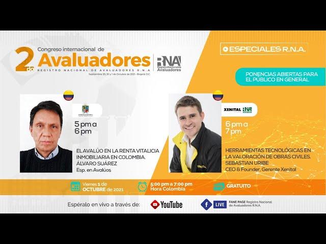 [ESPECIALES RNA] 2 Congreso Internacional de Avaluadores RNA Oct 1