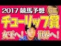 【競馬予想】 2017 チューリップ賞 女王へ、そして世界へ!!