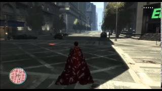 GTA IV SUPERMAN MAN OF STEEL MOD GAMEPLAY by Mamu