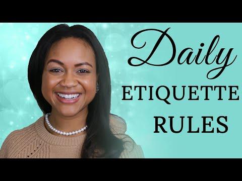 Daily Etiquette Rules Classy Women Follow