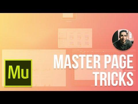 NEW! Adobe Muse 2016 Tutorial   Master Page Tricks