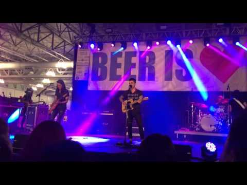 Dashboard Confessional  Kinda Yeah Sorta at 2016 AC Beer and Music Festival
