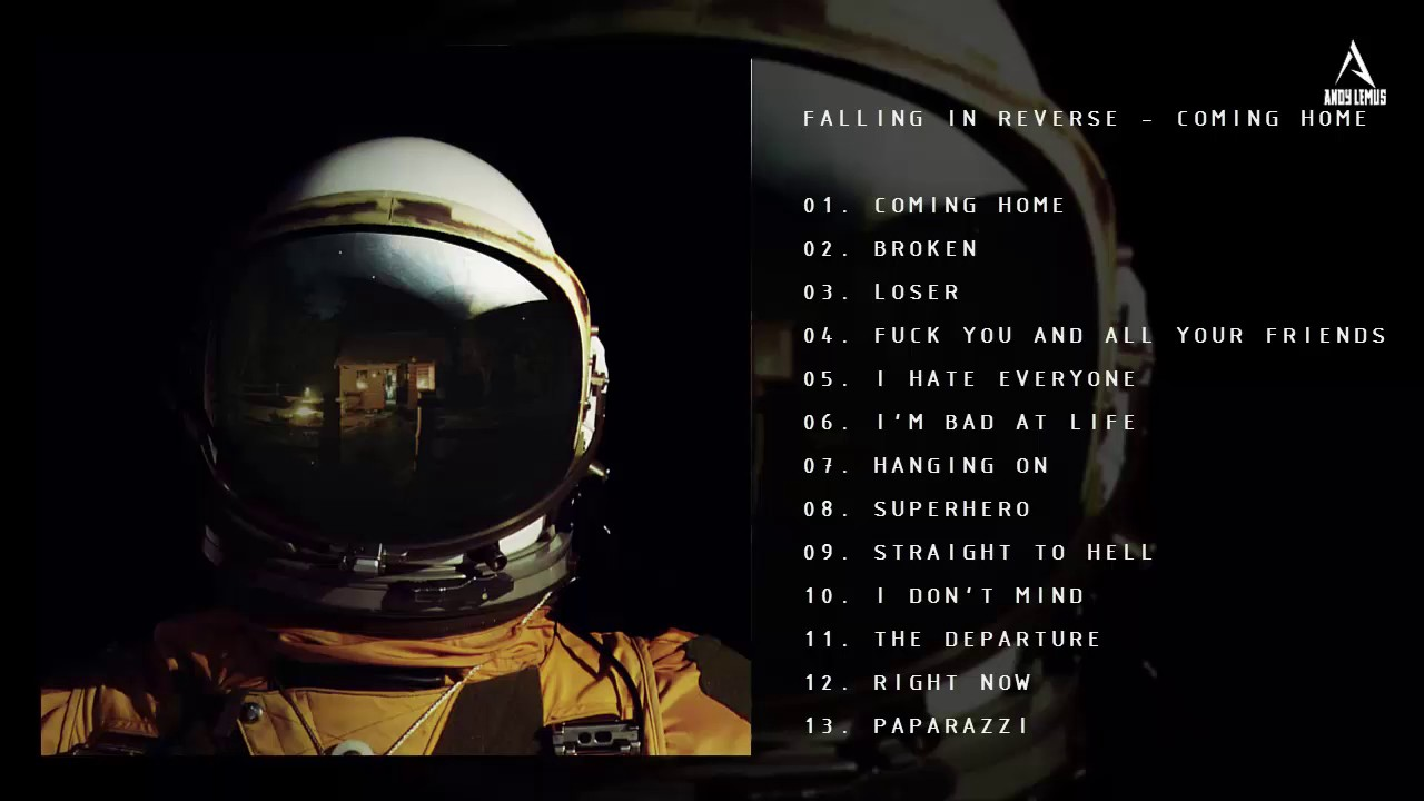 falling in reverse coming home review