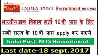 Latest Government Jobs 2017|Latest Government Jobs September-October2017|Indian post office Job 2017