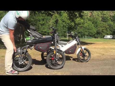 Moto électrique Pliante ZOSH