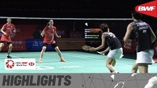 Fuzhou China Open 2019 | Finals WD Highlights | BWF 2019