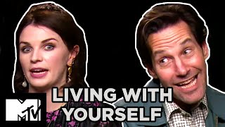 Living With Yourself Paul Rudd amp Aisling Bea Dish the Dirt on Their Sex Scene  MTV Movies