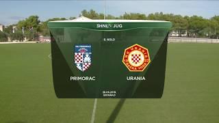PRIMORAC (B) vs URANIA 1:4 (6. kolo, Treća HNL - Jug 19/20)