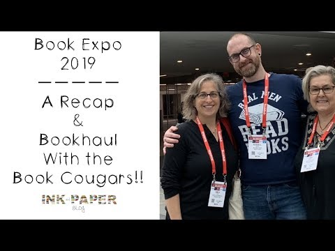 Book Expo  2019 : Recap w/ the Book Cougars