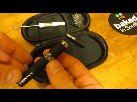 How to load and smoke cannabis oil or wax / shatter with a electric vape pen.